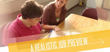 Direct Support Realistic Job Preview